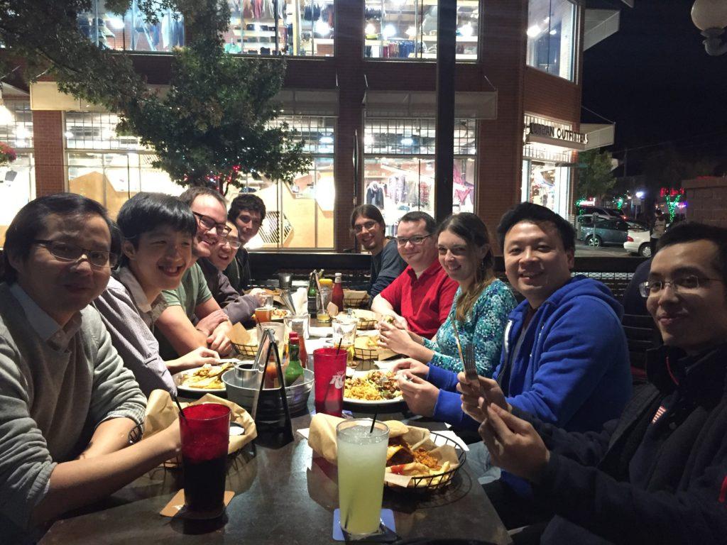 (Left to Right): Min Fang, Ben Wei Peng, Ben Rackham, Yifan Zhou, Kevin Wagner, Gijs Mulders, Daniel Apai, Theodora Karalidi, Hao Yang, Xianyu Tan