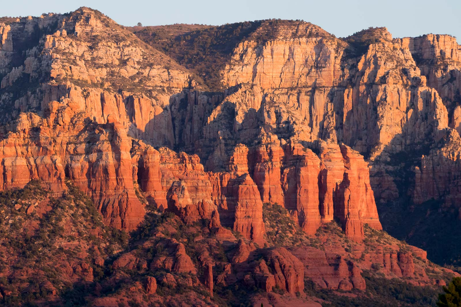 Ancient coastal and wind deposits surround Sedona.